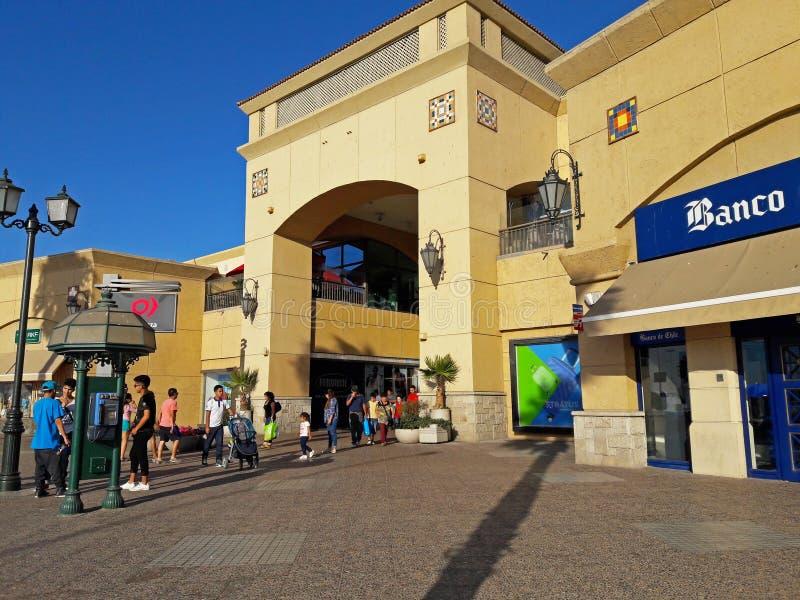 Shopping no La Serena - Chile foto de stock royalty free