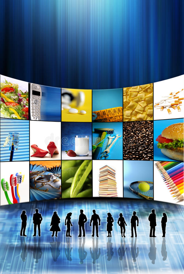Download Shopping online stock illustration. Image of technology - 10474656