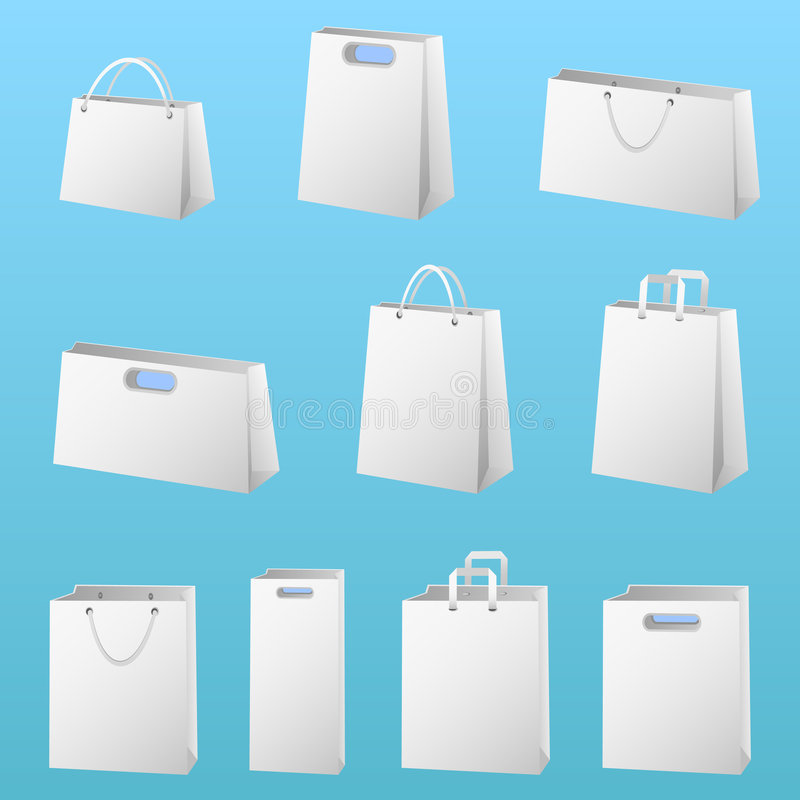 Download Shopping package vector stock vector. Image of plastic - 7160794