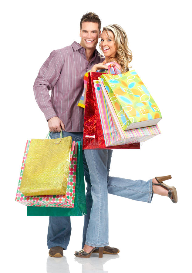 Download Shopping people stock image. Image of happy, pleasure - 12365455