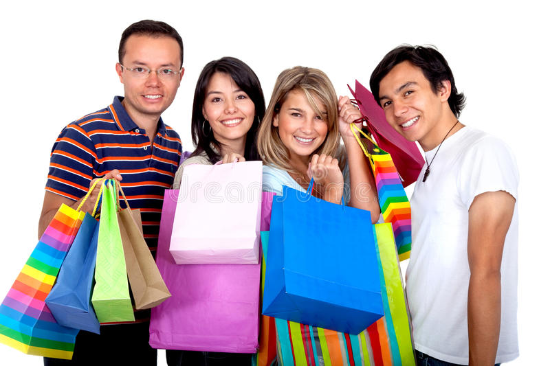 Download Shopping people stock photo. Image of retail, female - 12529884