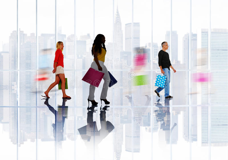 Shopping Purchase Retail Customer Consumer Sale Concept royalty free stock image