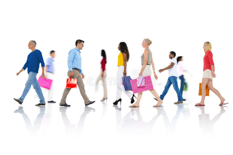 Shopping Purchase Retail Customer Consumer Sale Concept.  royalty free stock photo