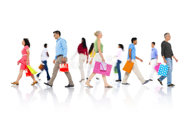 Shopping Purchase Retail Customer Consumer Sale Concept royalty free stock photos