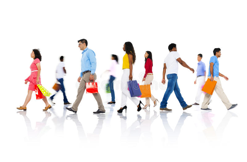 Shopping Purchase Retail Customer Consumer Sale Concept stock photos