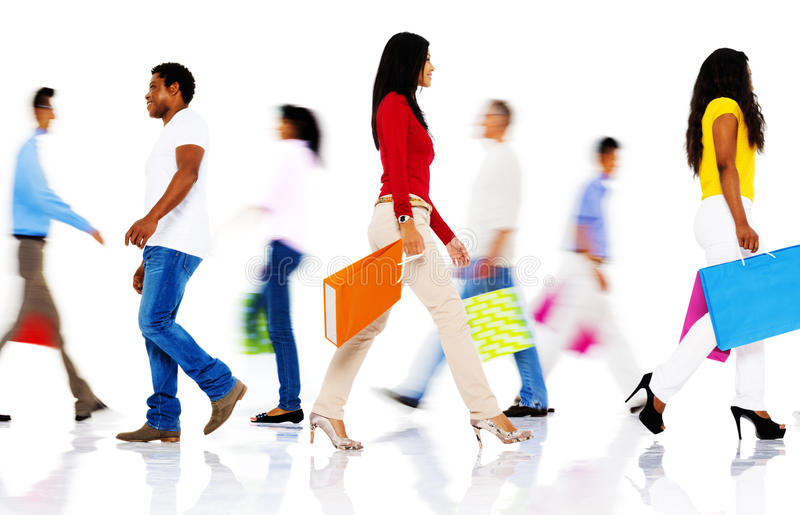 Shopping Purchase Retail Customer Consumer Sale Concept. Shopping Purchase Retail Customer Consumer Sale stock photography