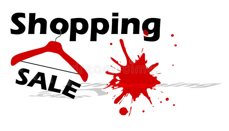 Shopping sale design stock photos
