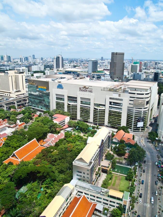 shopping siam för förebild s för bangkok strömförsörjning en fotografering för bildbyråer