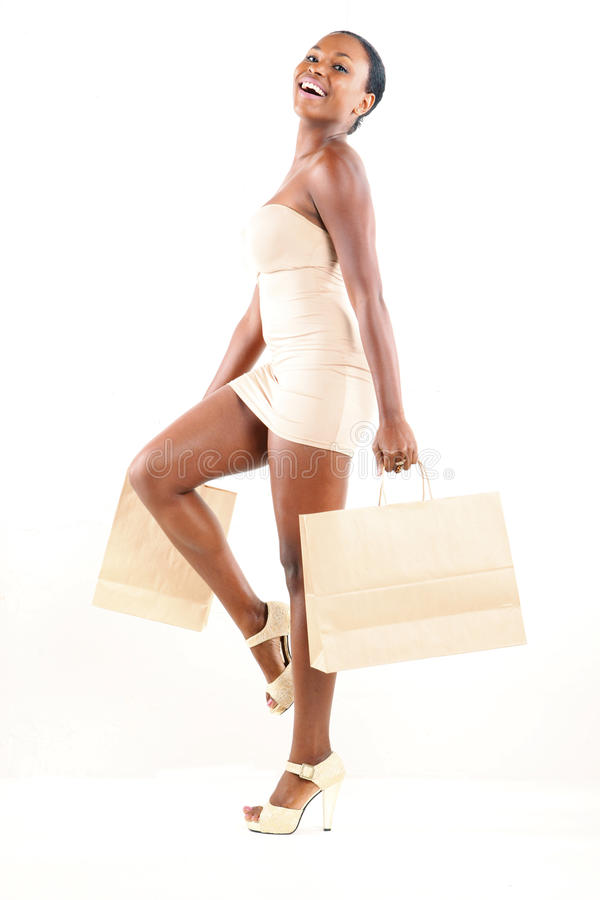 Shopping spree royalty free stock photography