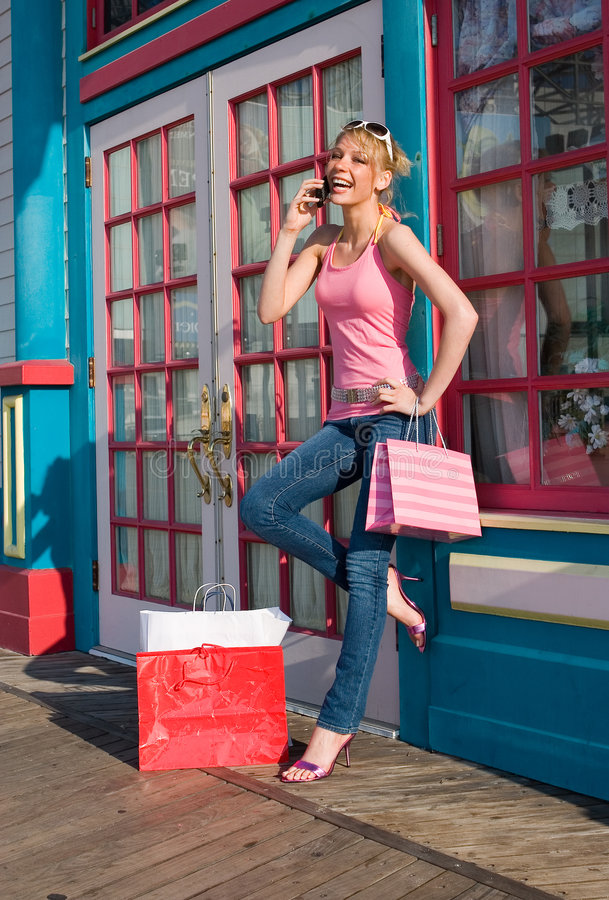 Download Shopping Spree stock photo. Image of happy, buyer, colorful - 2551294