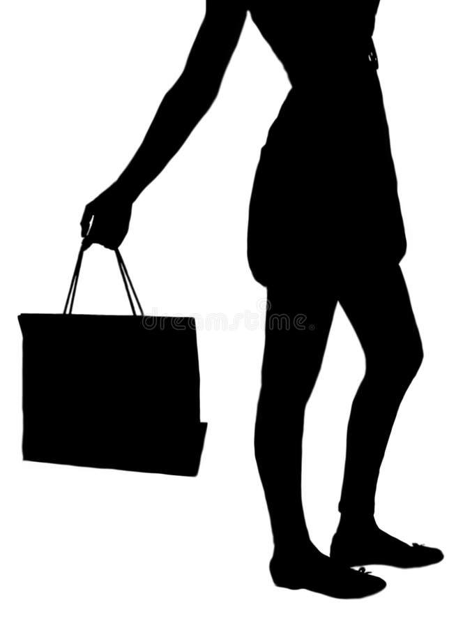 Shopping spree vector illustration