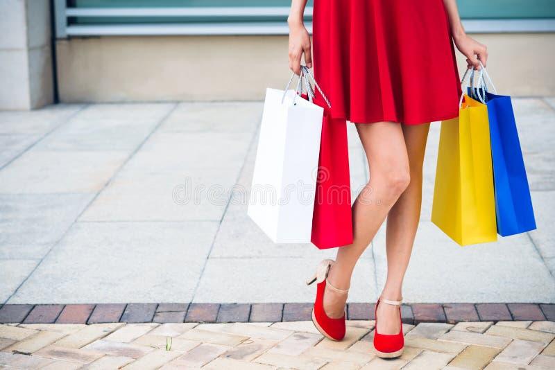 Shopping spree immagini stock