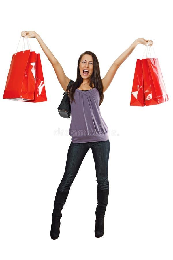 Shopping success royalty free stock photo