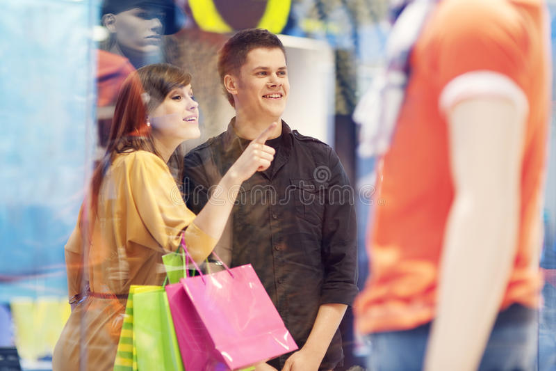 Shopping time stock photos