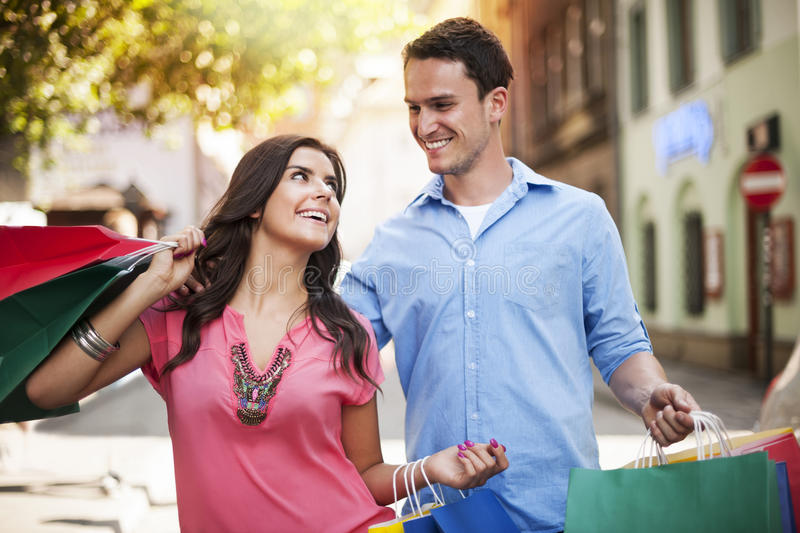 Download Shopping time stock photo. Image of adult, laughing, life - 32307612