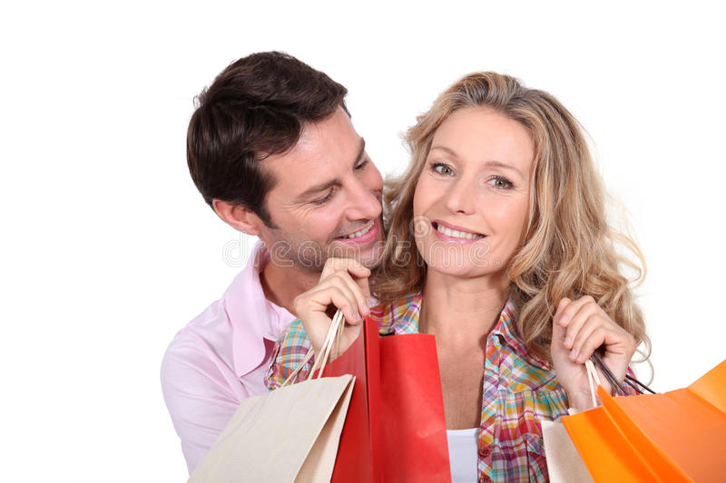 Download Shopping trip stock image. Image of handsome, boyfriend - 22630047
