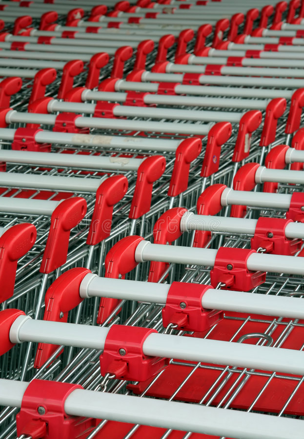 Download Shopping Troleys Royalty Free Stock Photos - Image: 2300218