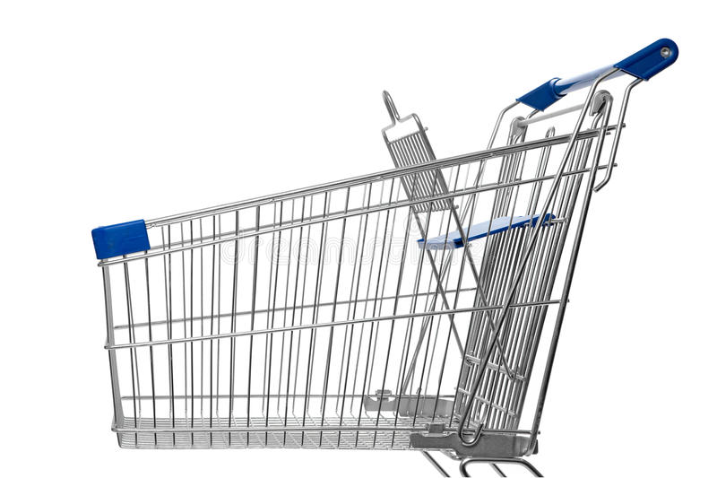 Download Shopping trolley stock photo. Image of checkout, commerce - 19588678