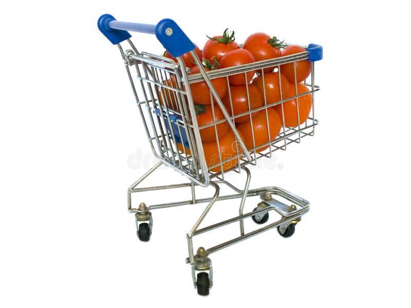 Download Shopping trolley stock photo. Image of ketchup, vitamin - 8858574