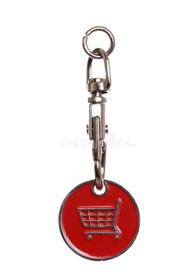 Download Shopping trolley token stock image. Image of token, cutout - 22351253
