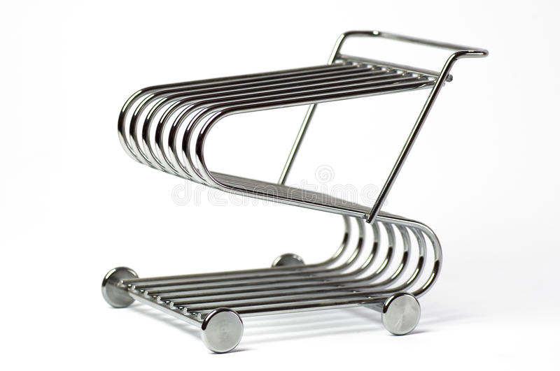 Download Shopping trolley stock photo. Image of chrome, basket - 30761966