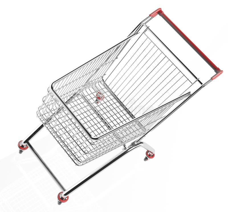 Download Shopping trolleys stock illustration. Illustration of object - 28775546