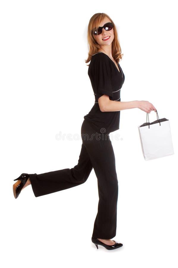 Shopping walk royalty free stock photo