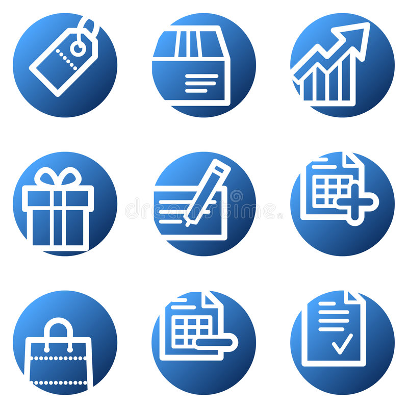 Download Shopping web icons stock vector. Illustration of address - 7871434