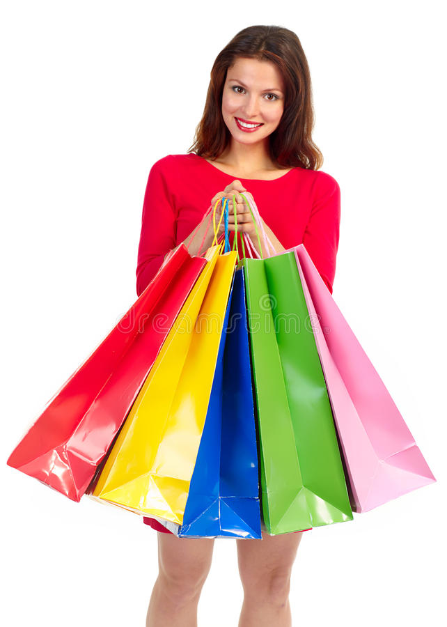 Download Shopping woman stock image. Image of lady, happiness - 11794837