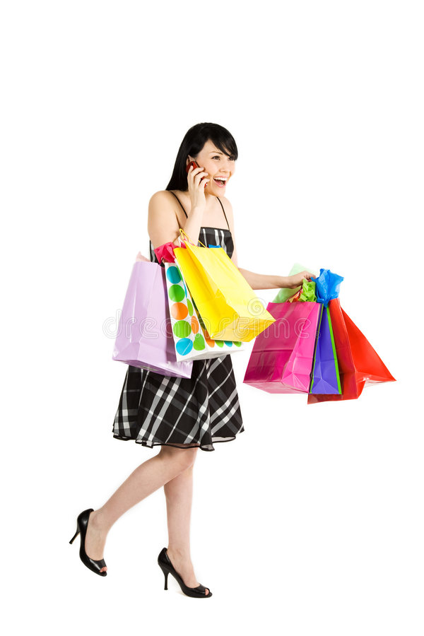 Download Shopping woman stock photo. Image of buying, cheerful - 4182394