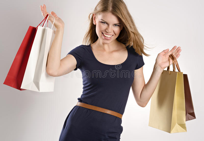 Download Shopping woman stock image. Image of customer, model - 33618529