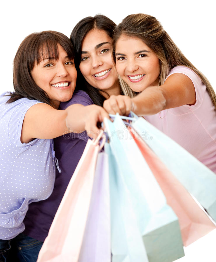 Download Shopping women stock photo. Image of cheerful, adults - 21869234