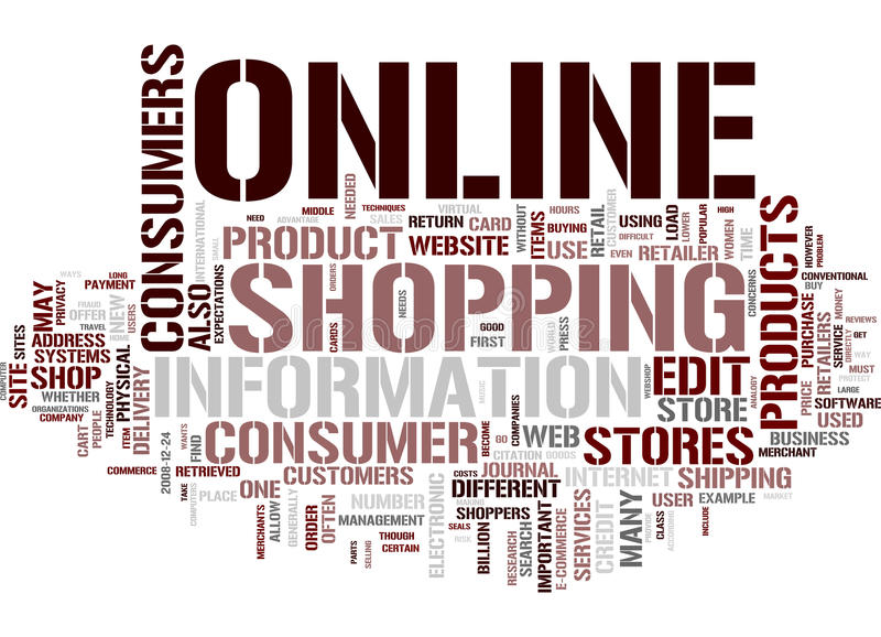 Shopping word cloud. Email word cloud on white background, gorgeous tag clouds for your design vector illustration