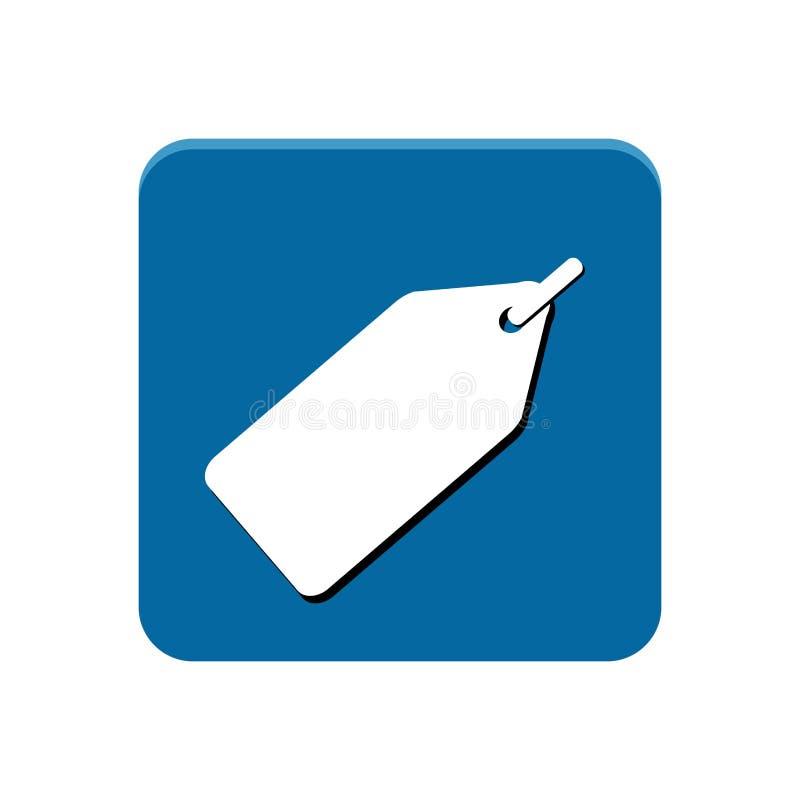 Shoppingapp-knapp vektor illustrationer