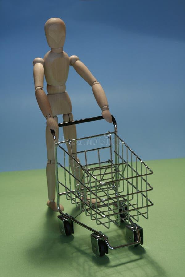 shoppingcart стоковая фотография rf