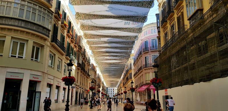 Shoppingmall της Μάλαγας στην Ισπανία στοκ εικόνες