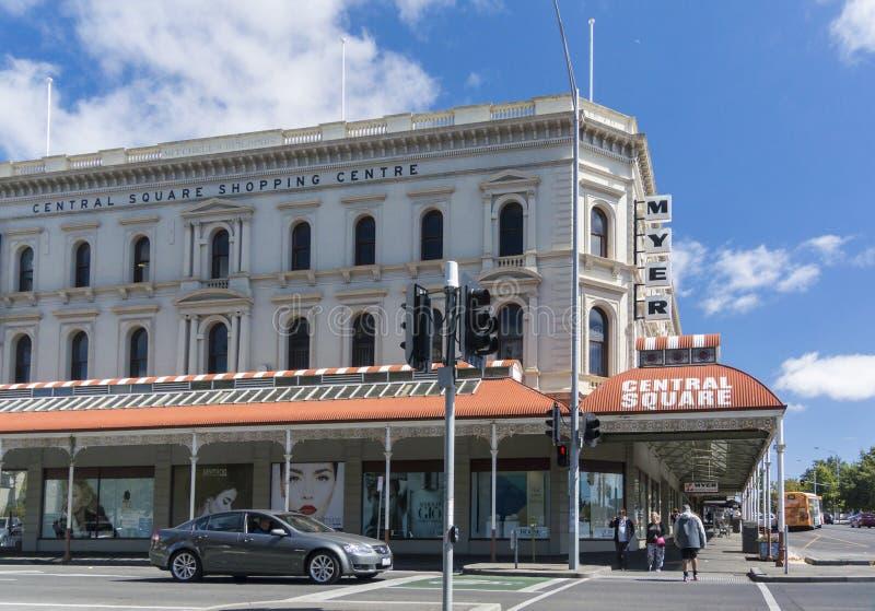 Shoppingmitt, Ballarat, Victoria, Australien royaltyfri fotografi