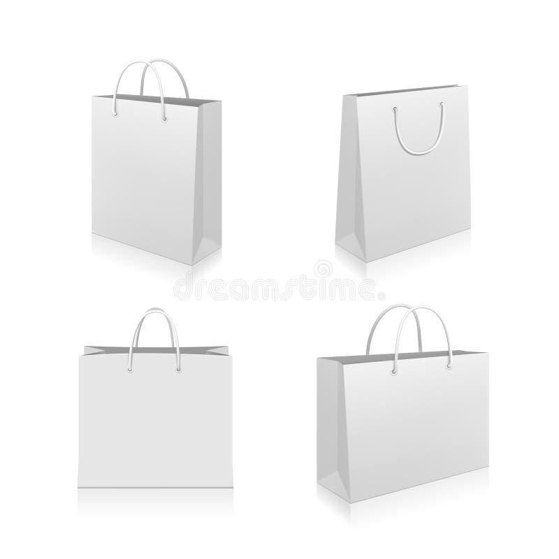 Shoppingpåsar stock illustrationer