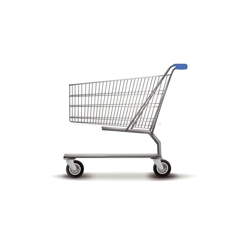 ShoppingTrolley royaltyfri illustrationer