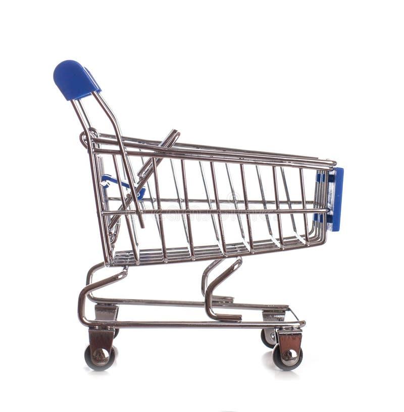 Shoppingvagn - materielbild fotografering för bildbyråer