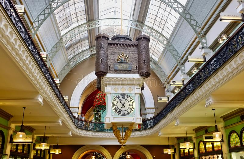 Historic Queen Victoria Building, Sydney, NSW, Australia royalty free stock images