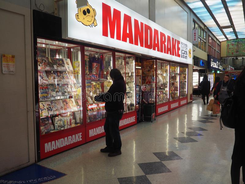 Mandarake royalty free stock photography