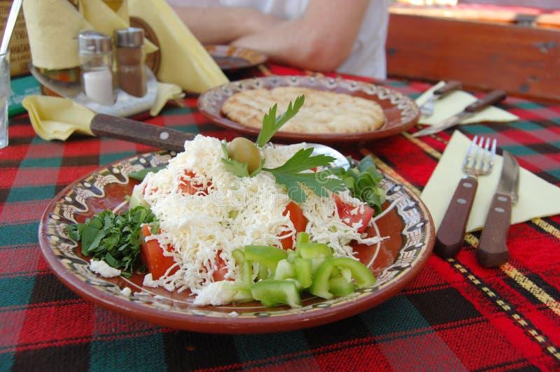 shopska σαλάτας στοκ εικόνες
