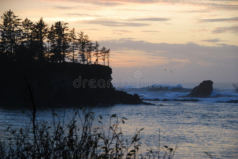 Download Shore Acres stock image. Image of large, sunset, pound - 26176535