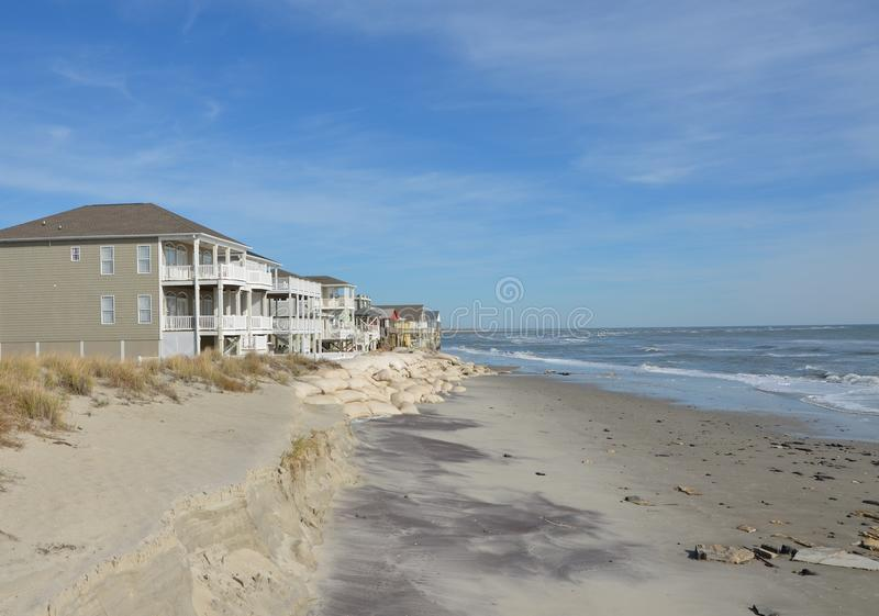 Download Shore homes stock photo. Image of summer, house, ocean - 28389126