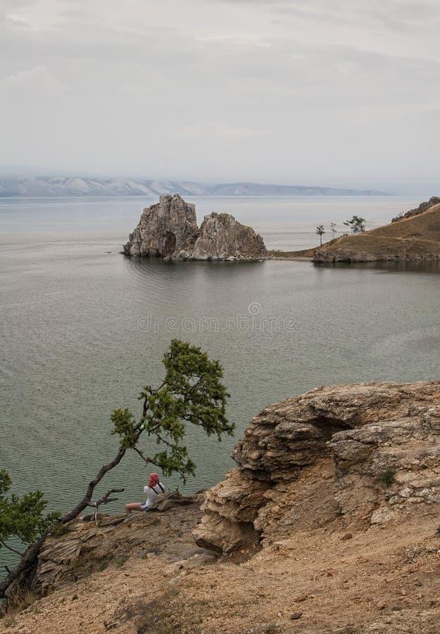 Khuzhir Village Near Baikal Lake Editorial Stock Image