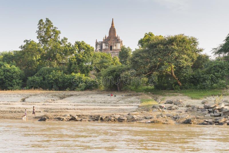 Shore of river royalty free stock photos