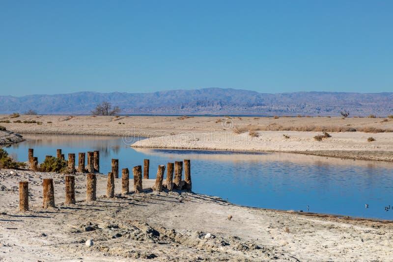 The Salton Sea royalty free stock photos