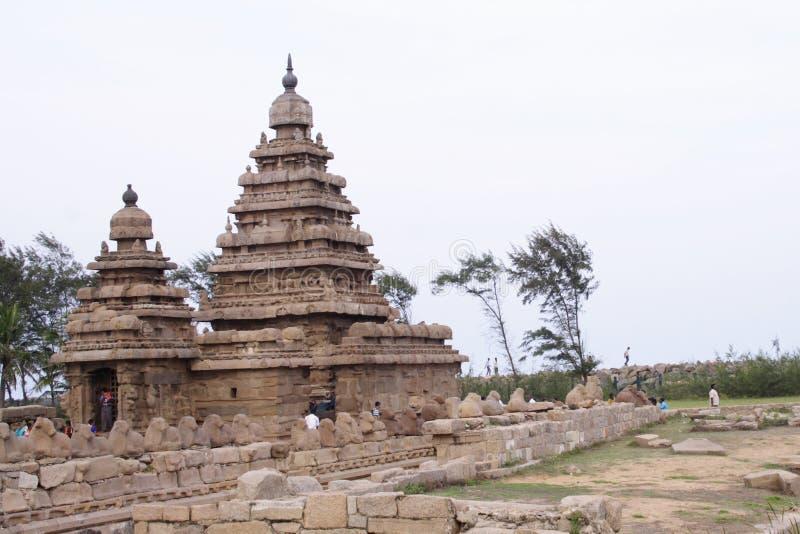 Download Shore temple stock image. Image of rock, religion, tamilnadu - 5727437
