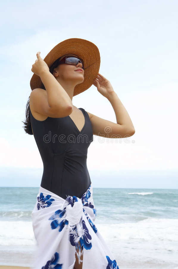 Download Shore woman stock image. Image of portrait, look, nose - 2777819